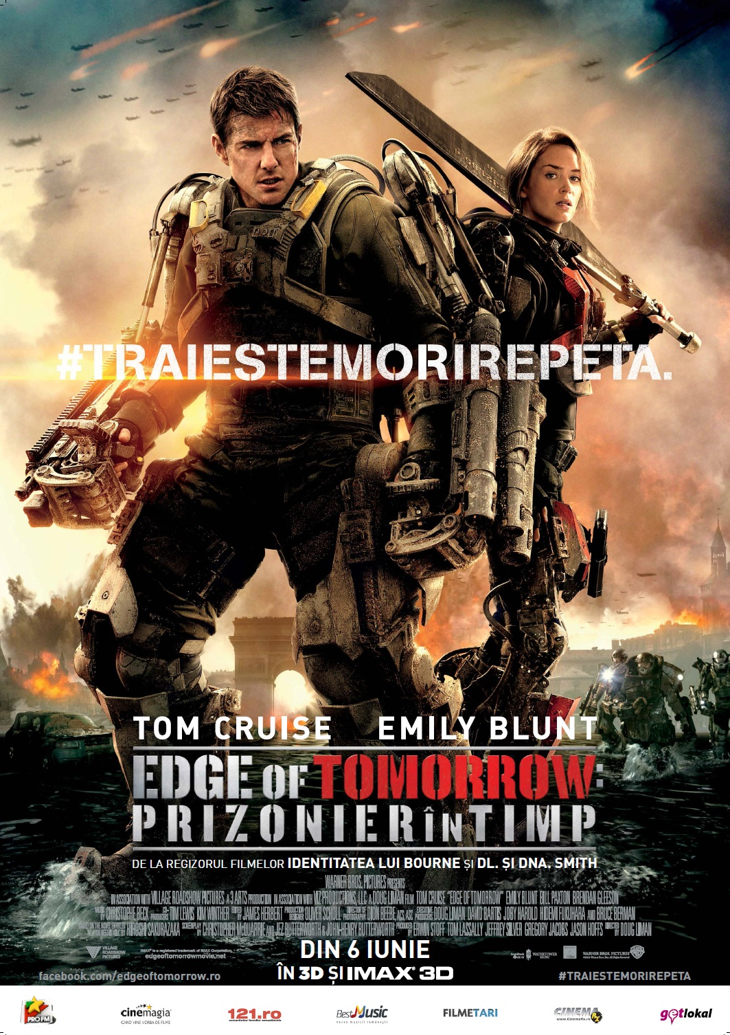 Edge of Tomorrow: Prizonier in timp 3D