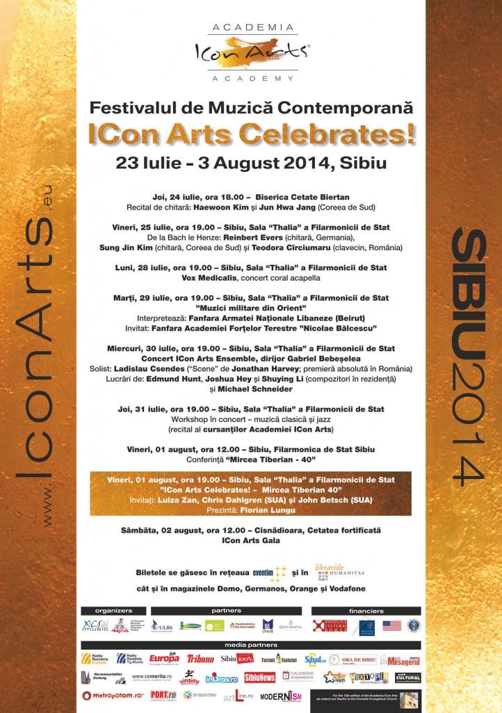Festivalul de Muzica Contemporana ICon Arts – Celebrates