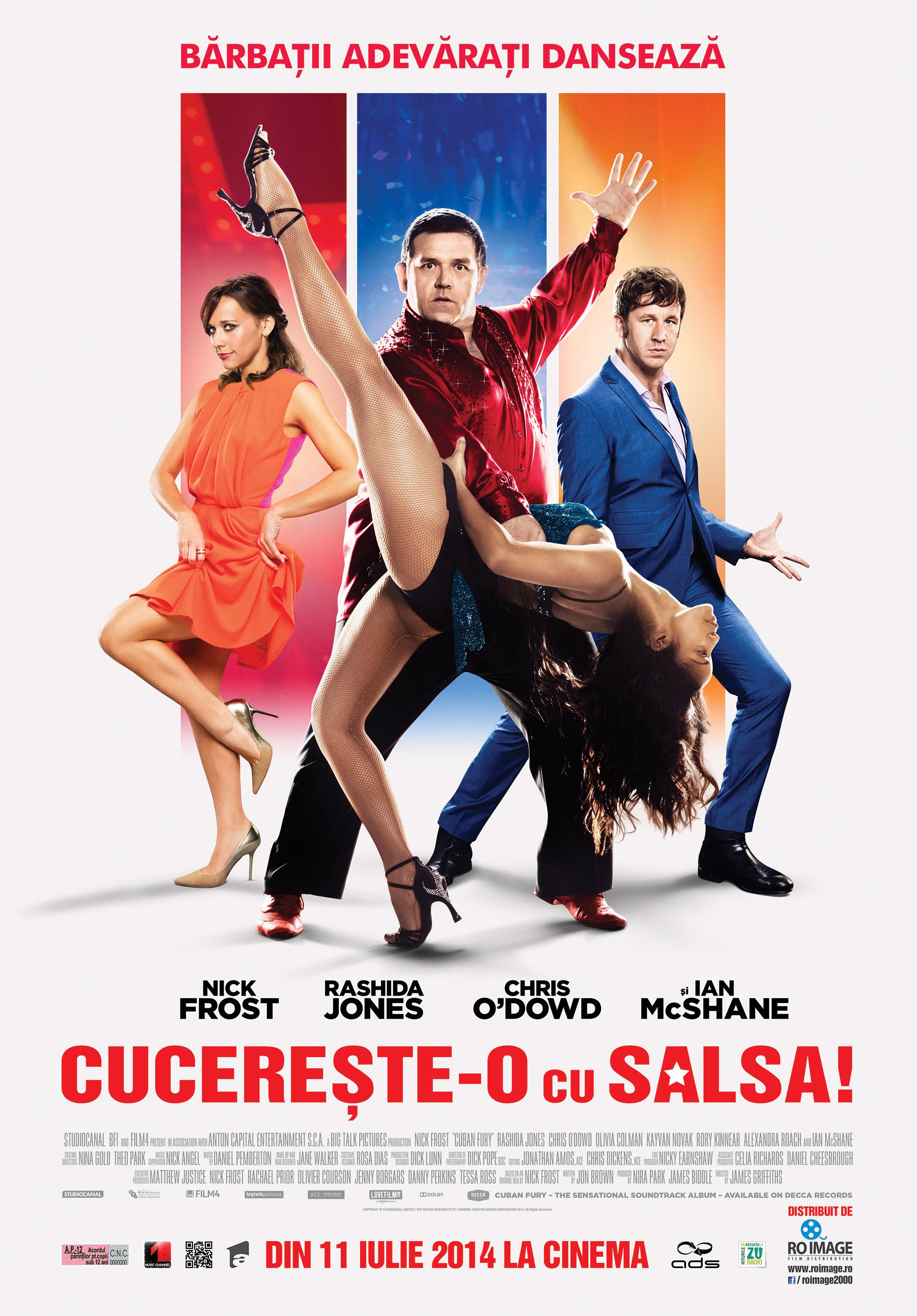 Cucereste-o cu salsa! / Cuban Fury (Premiera)