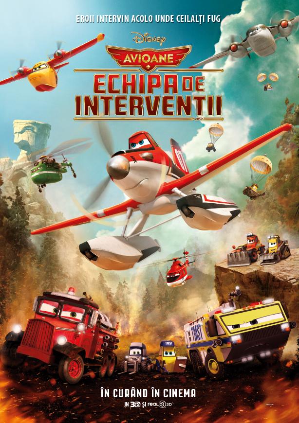 Avioane: Echipa de interventii – 3D Dublat
