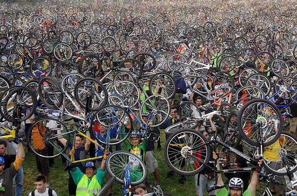 Întâlnirea bicicliștilor sibieni