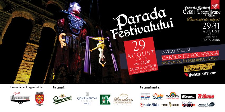 "Festivalul Medieval ""Cetăți Transilvane"" Sibiu, ediția a XIV-a"