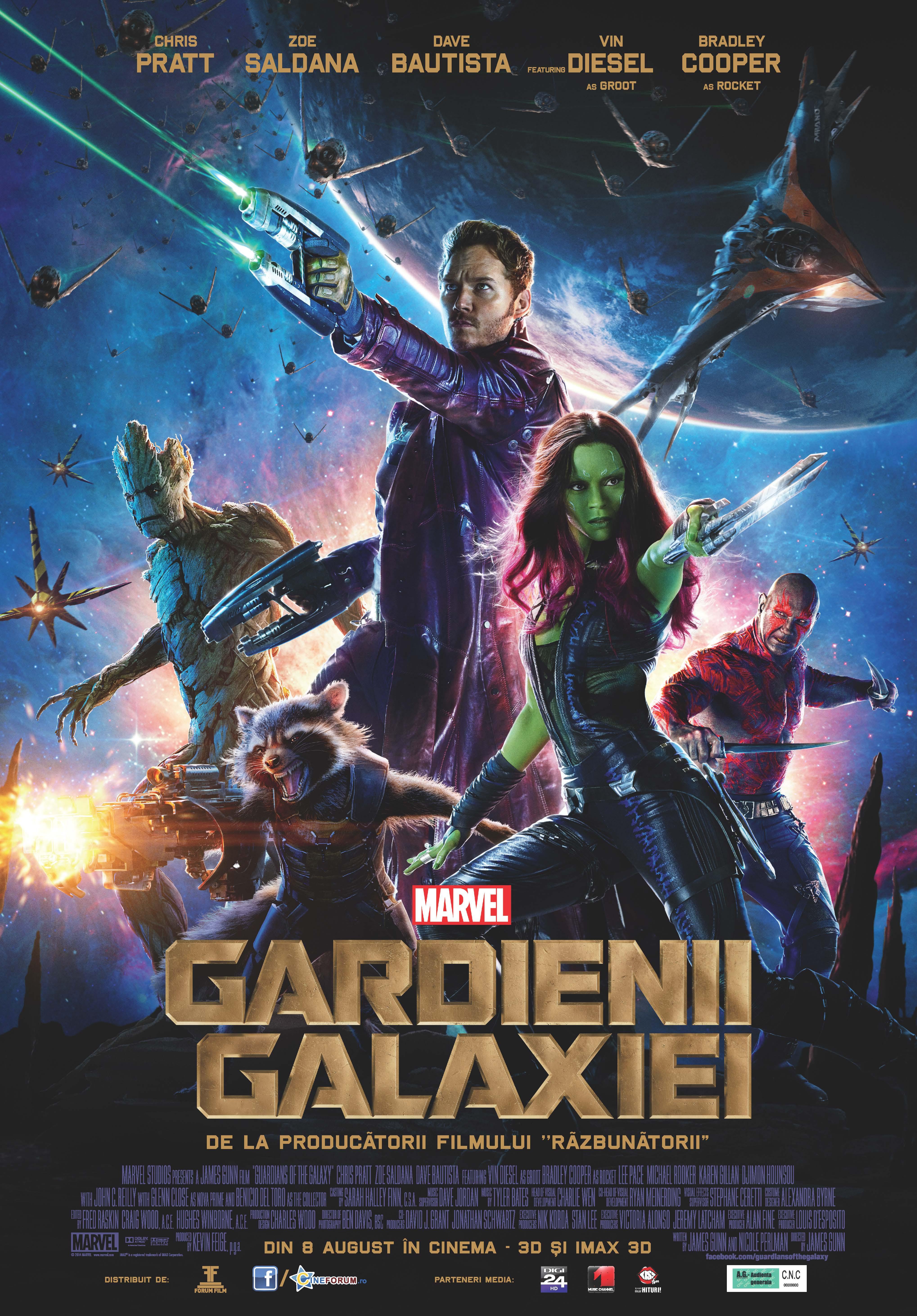 Gardienii Galaxiei 3D
