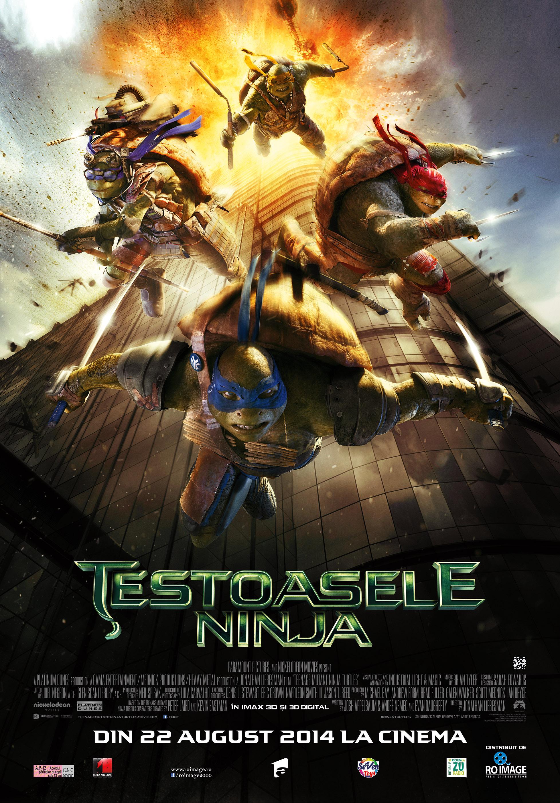 Testoasele Ninja – 3D  (Premiera)