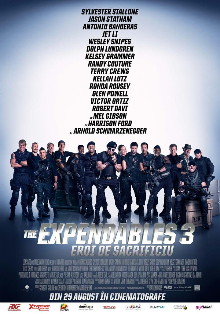 Eroi de sacrificiu 3 / The Expendables 3 (Premiera)