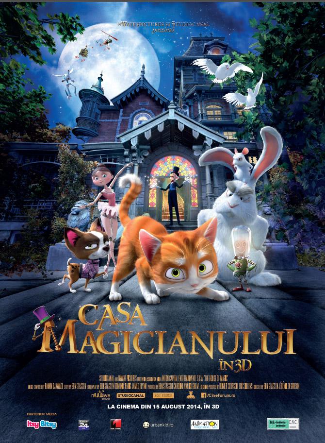 Casa Magicianului 3D (Dublat)  (Premiera)