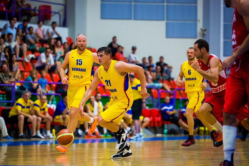 Preliminarii Eurobasket 2015: Romania vs Letonia
