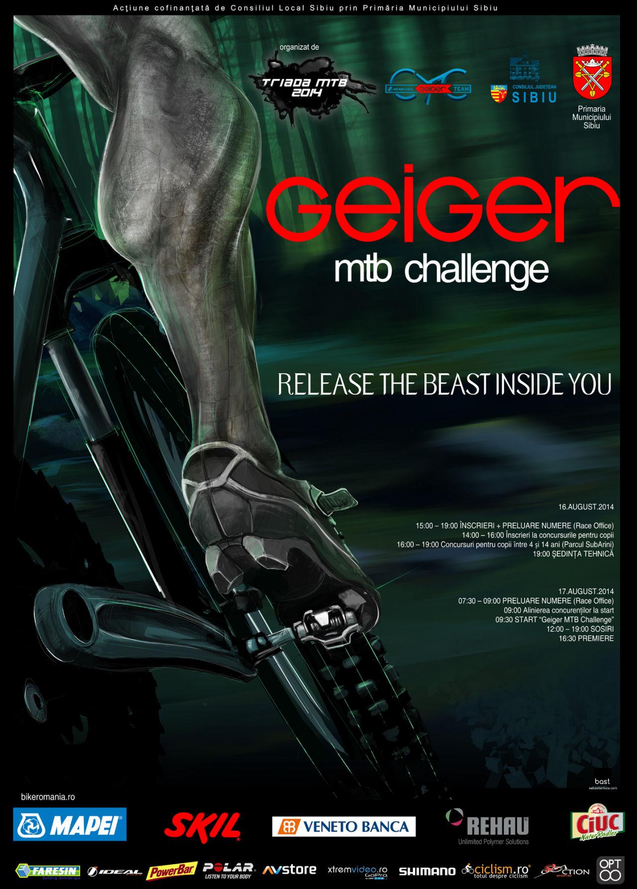 Geiger MTB Challenge - Triada MTB 2014 et.3