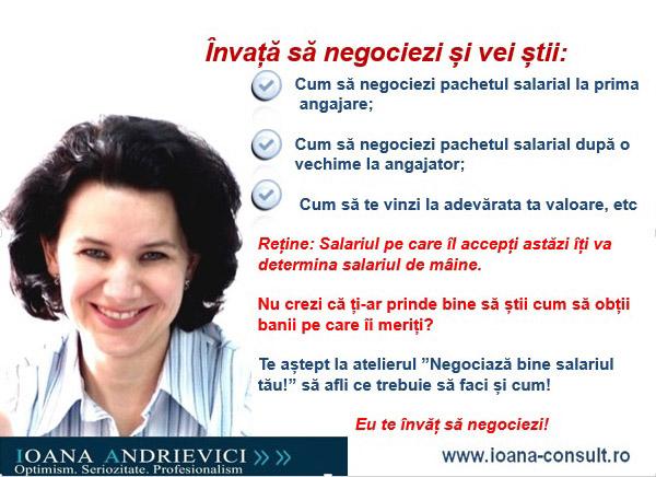 Negociază bine salariul tău! (2)