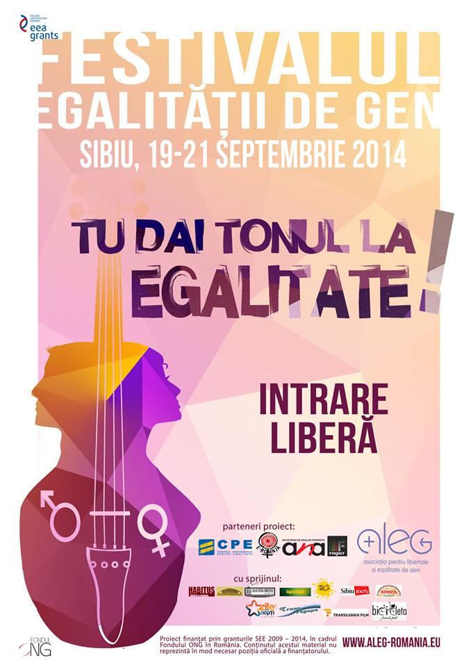 Festivalul Egalităţii de Gen