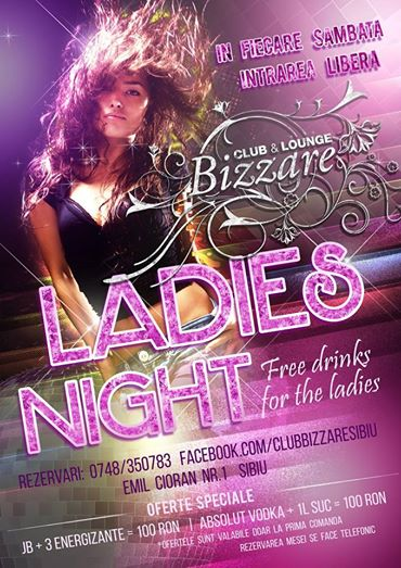Ladies Night in Bizzare Sibiu
