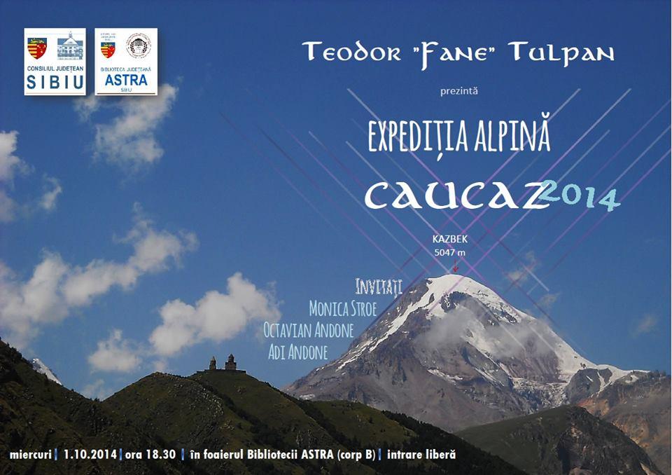 Proiectie Expeditia CAUCAZ 2014