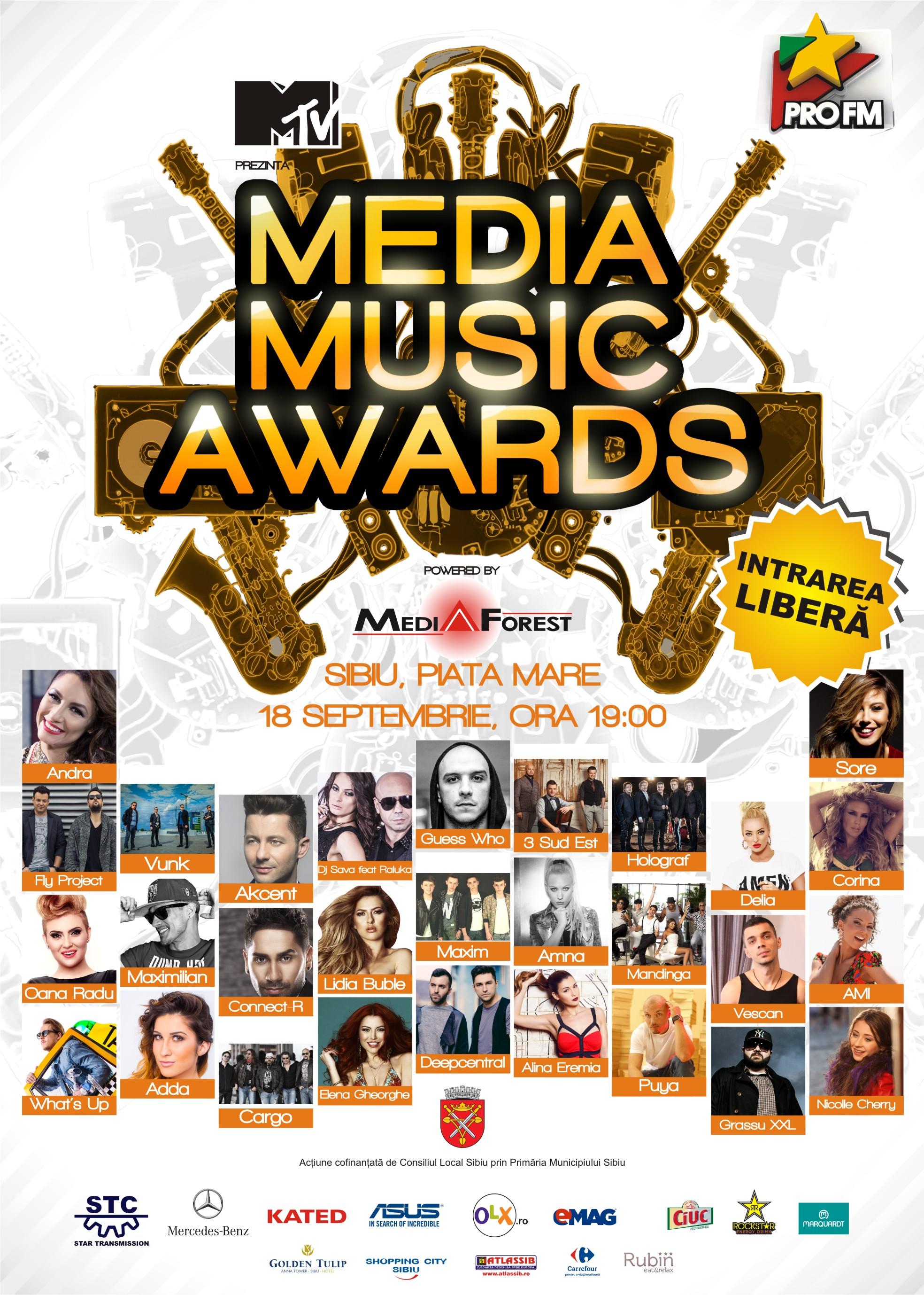 Media Music Awards 2014