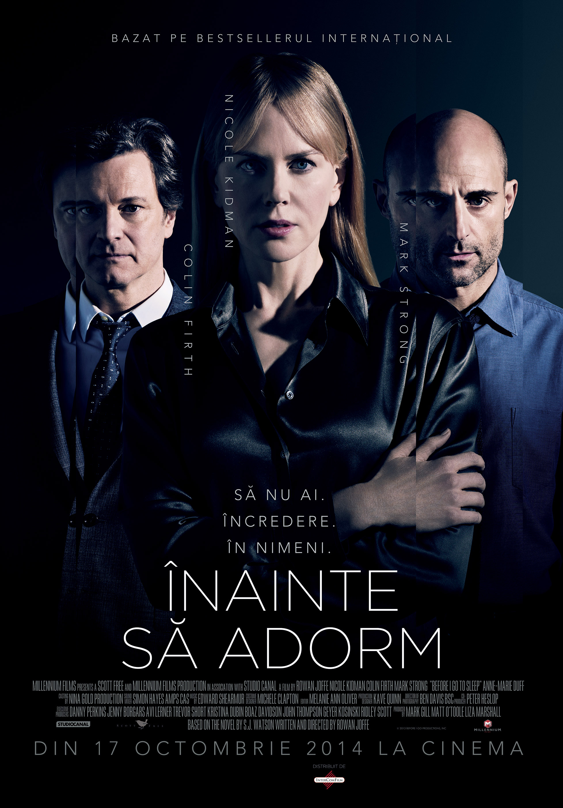 Inainte sa adorm / Before I Go to Sleep (Premiera)