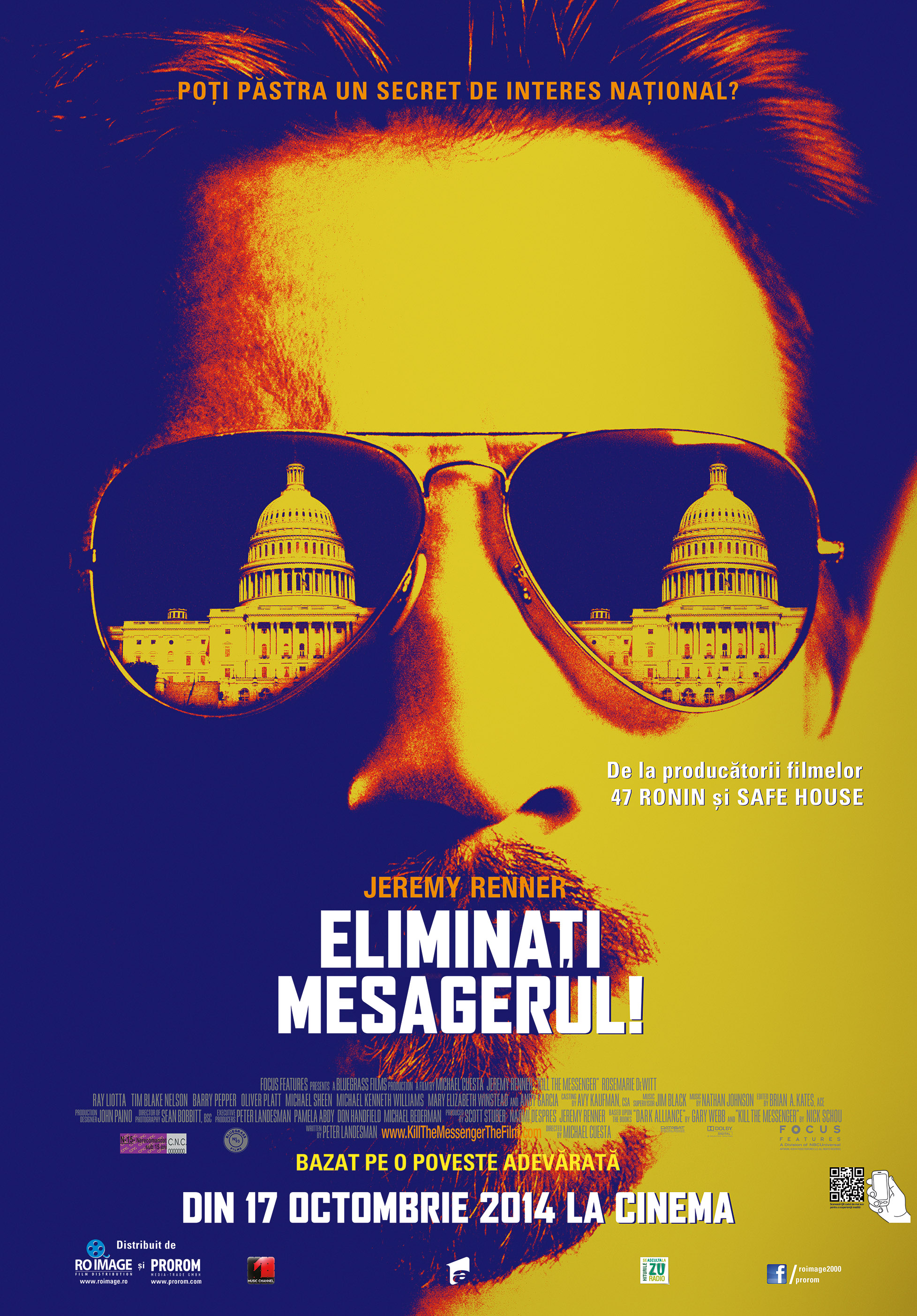 Eliminati Mesagerul! / Kill the Messenger (Premiera)