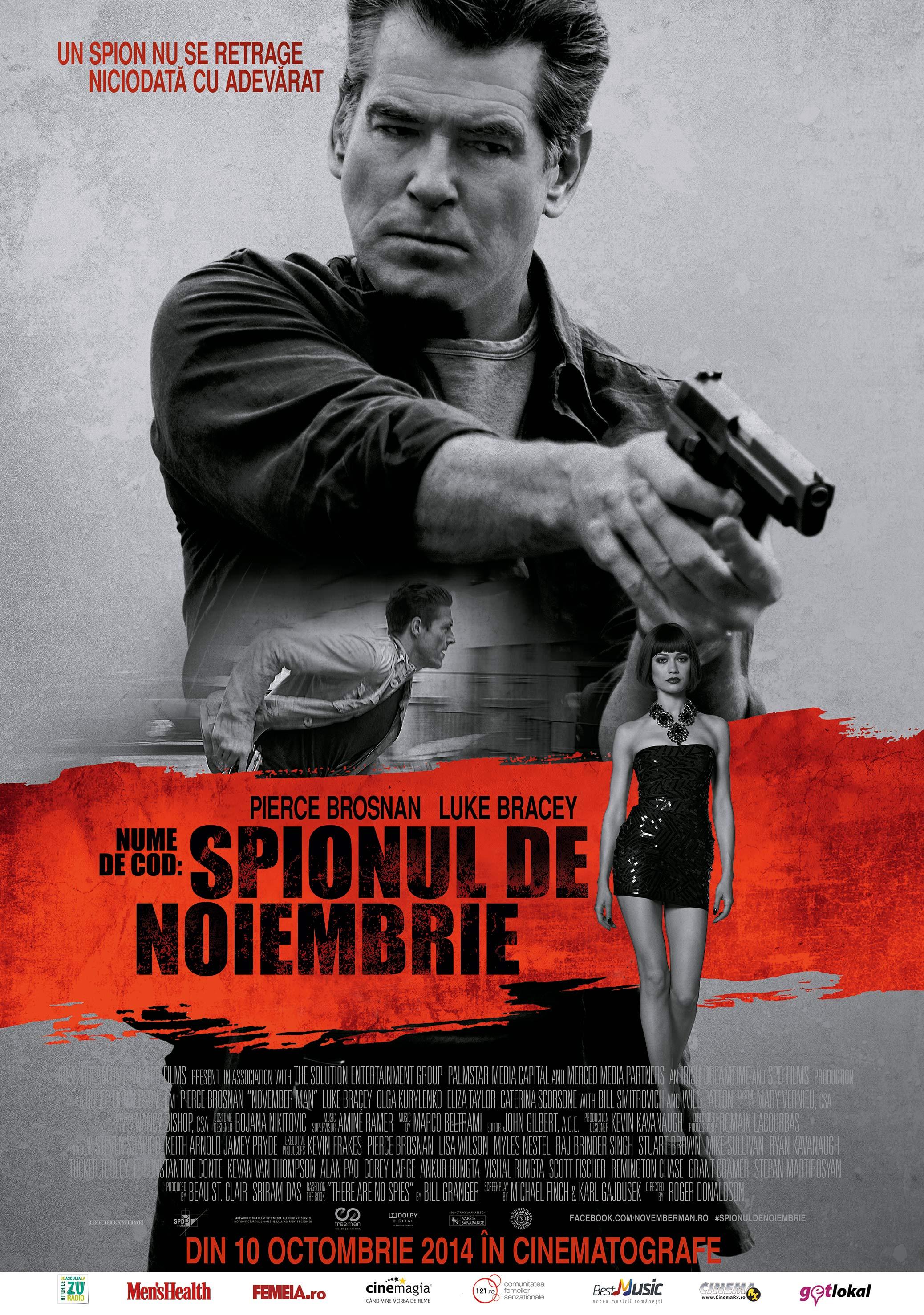 Nume de cod: Spionul de Noiembrie / The November Man (Premiera)