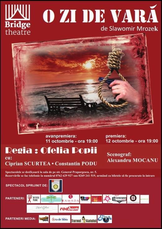 """"""" O zi de vara"""", regia Ofelia Popii- AVANPREMIERA"""