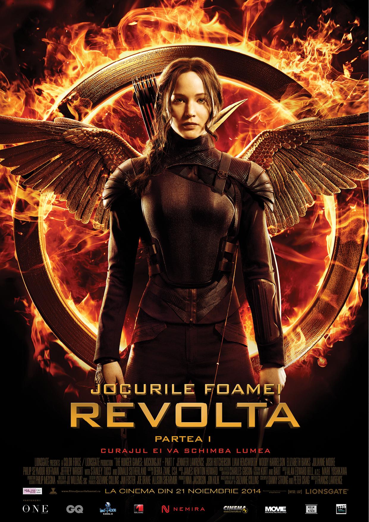 Jocurile Foamei: Revolta – Partea 1 / Hunger Games: Mockingjay – Part 1
