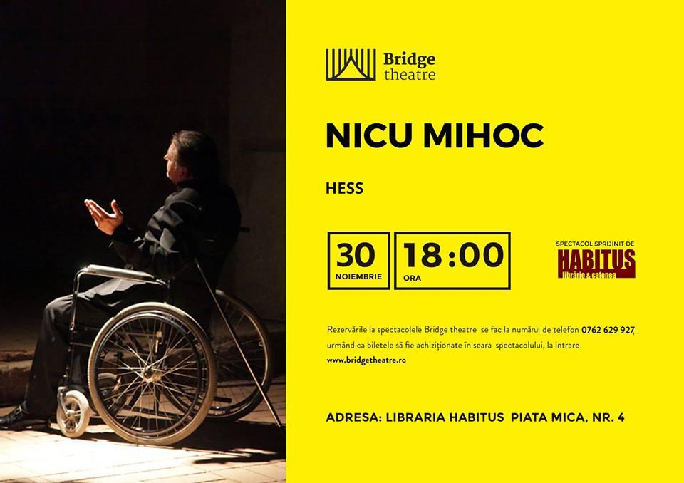 Hess - spectacol extraordinar Nicu Mihoc