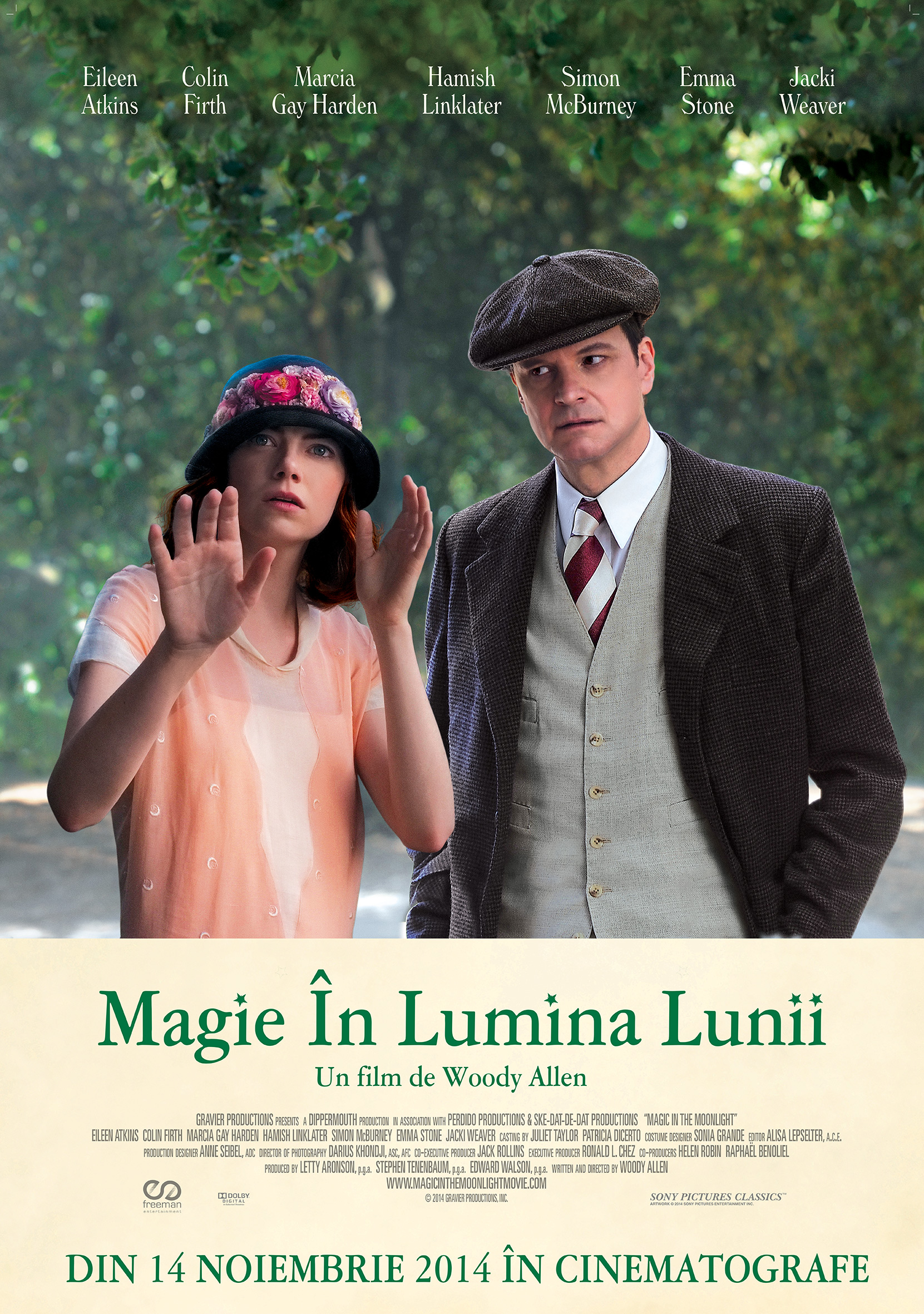 Magie in lumina lunii / Magic in the Moonlight (Premiera)