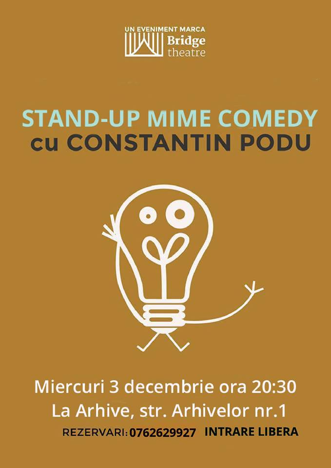 Stand-up Mime Comedy