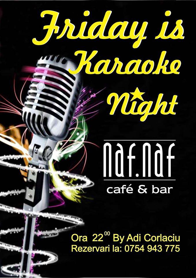 Friday is Karaoke Night