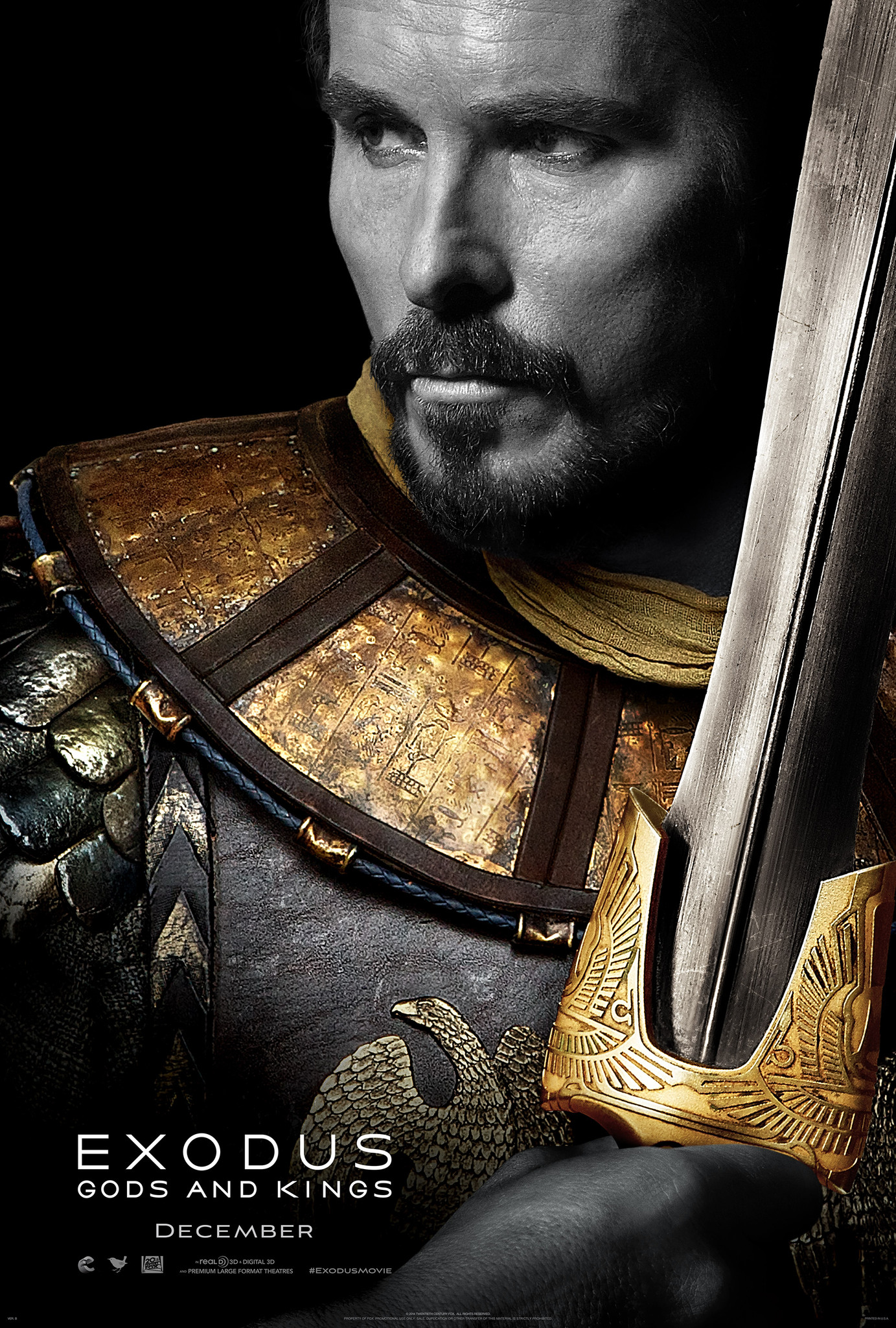 Exodus: Zei si Regi – 3D / Exodus: Gods and Kings – 3D (Premiera)