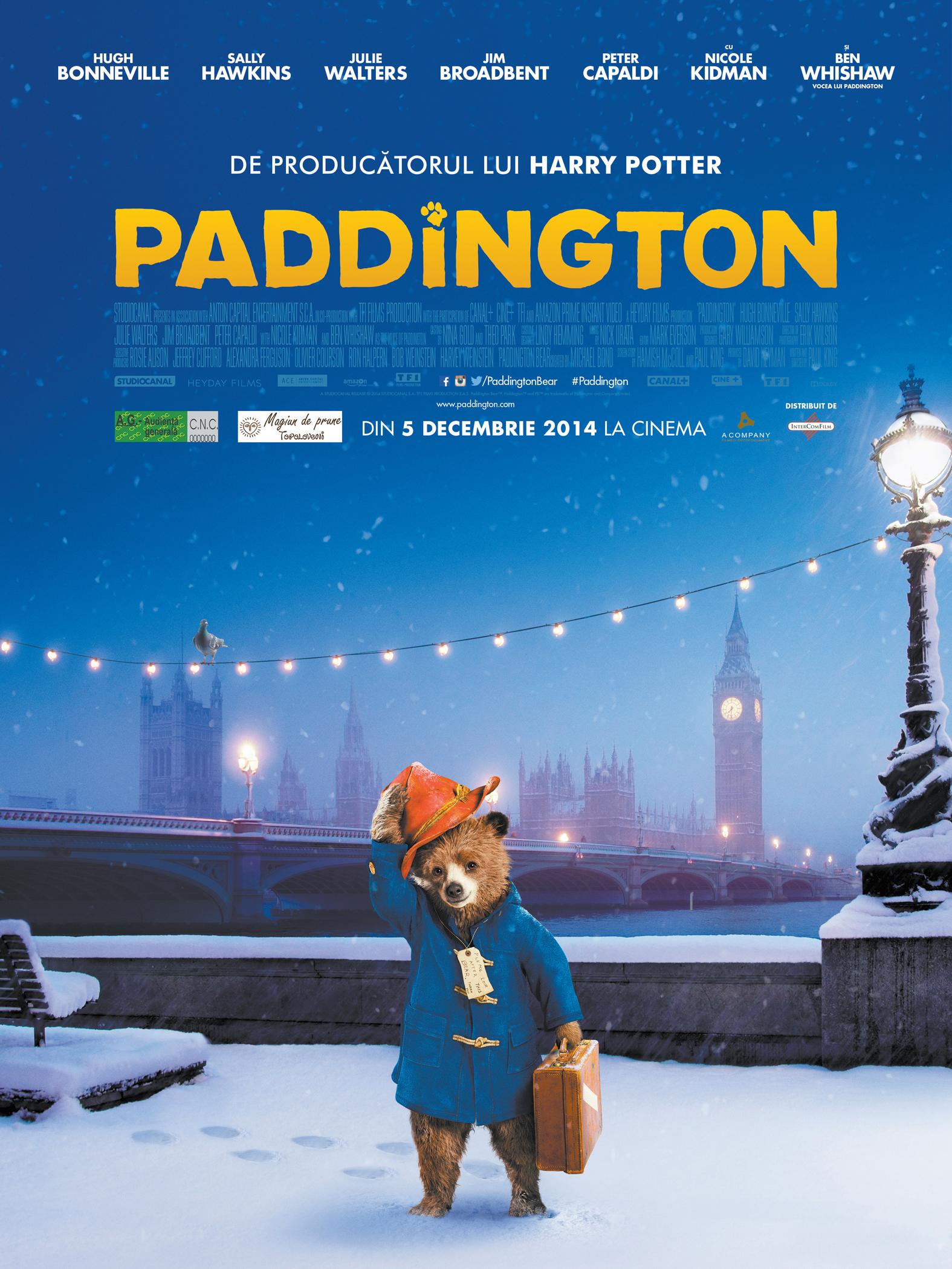 Paddington - 2D Dublat (Premiera)