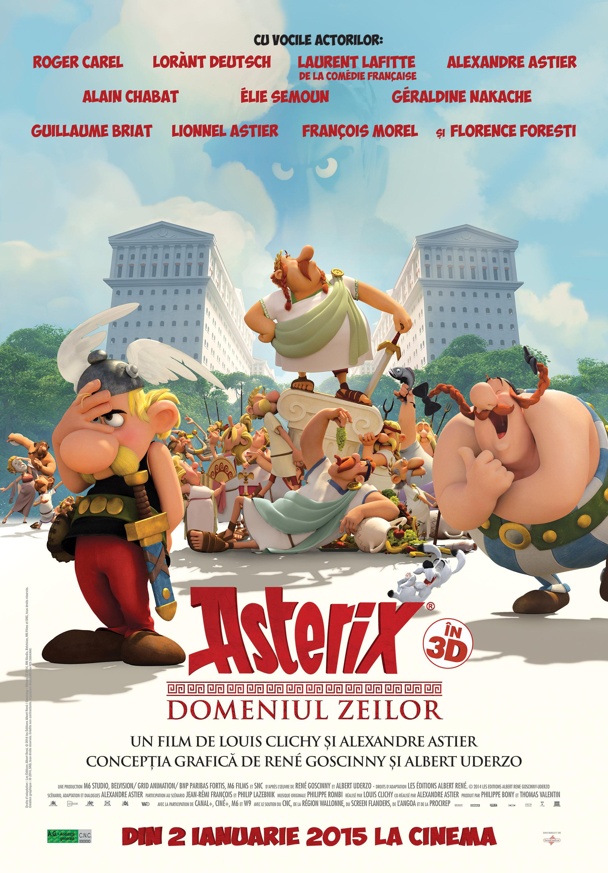 Asterix: Domeniul Zeilor 3D Dublat / Asterix: Le Domanie des Dieux – 3D (Premiera)