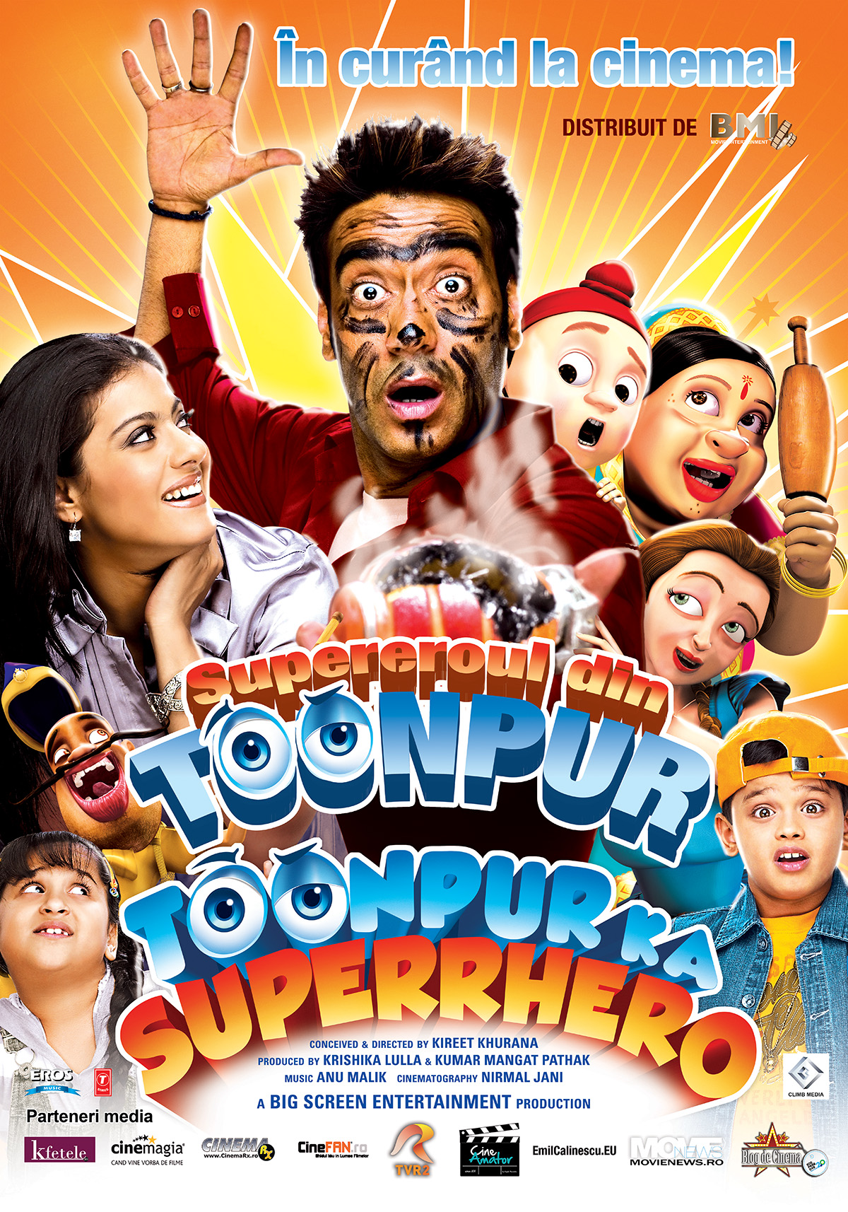 Supereroul din Toonpur – 2D Dublat / Toonpur Ka Superrhero (Premiera)