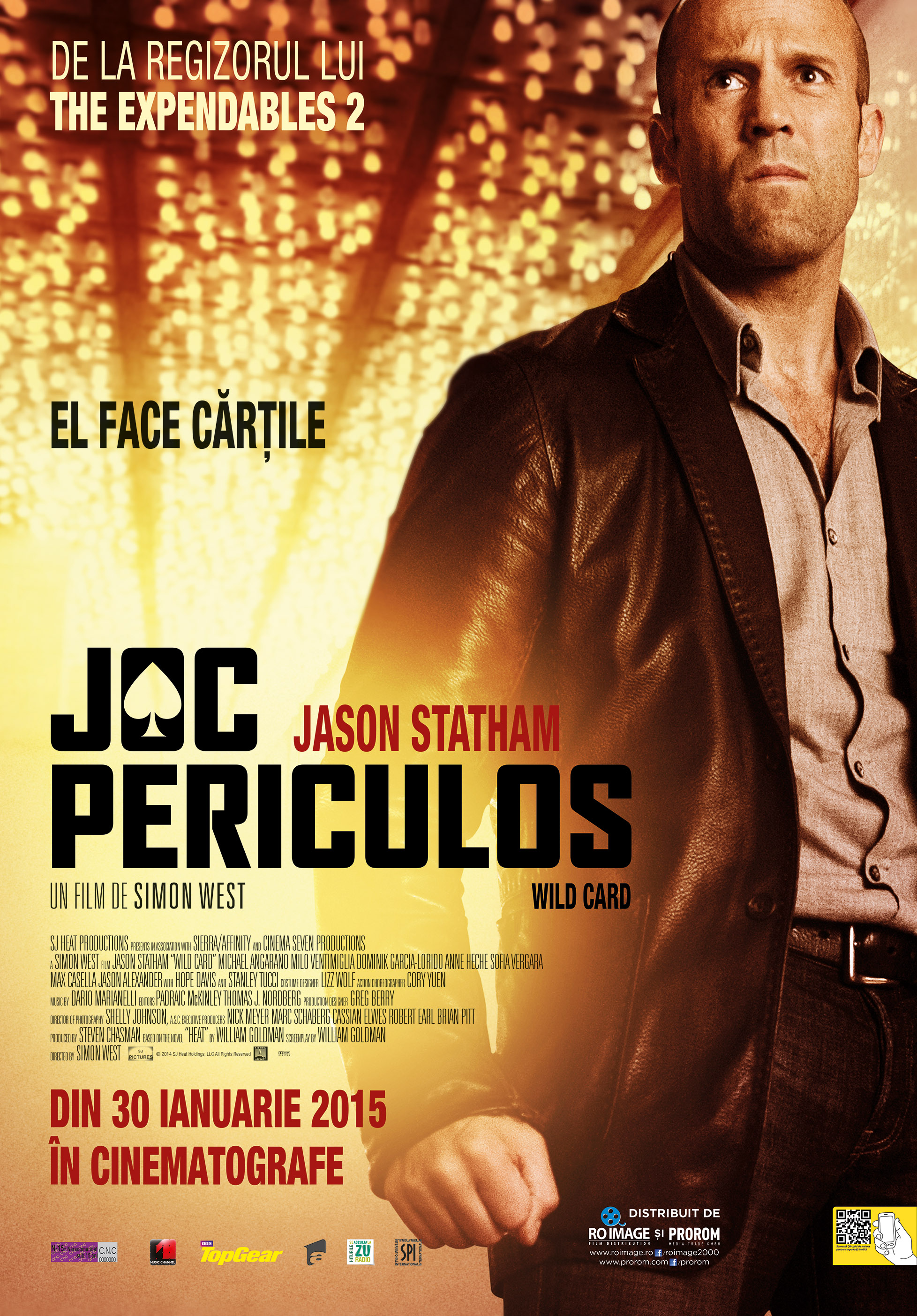 Joc Periculos / Wild Card (Premiera)