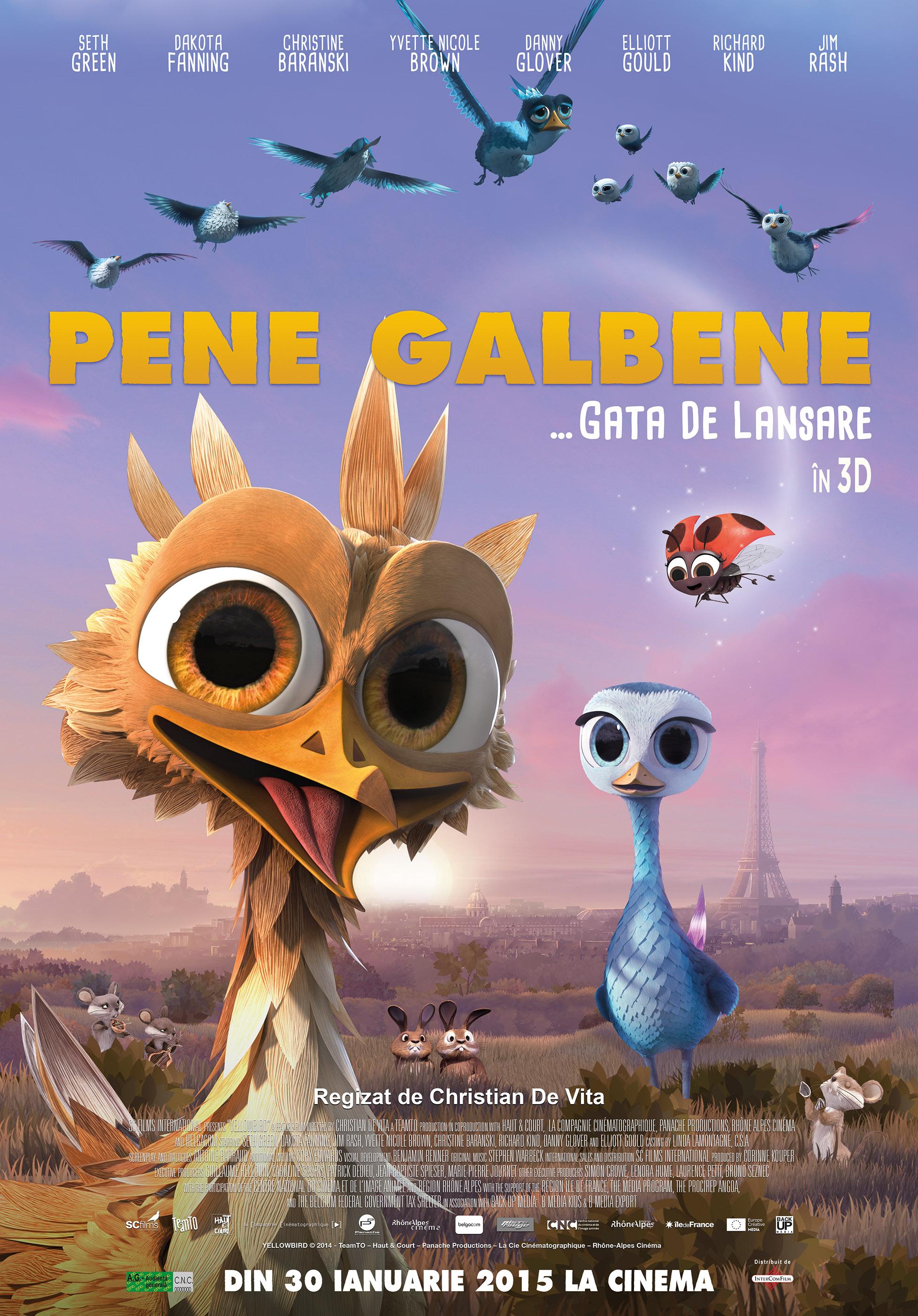 Pene Galbene – 3D Dublat / Yellowbird – 3D Dubbed (Premiera)