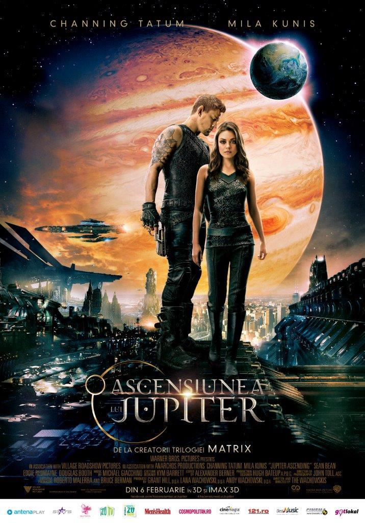 Ascensiunea lui Jupiter – 3D / Jupiter Ascending – 3D (Premiera)