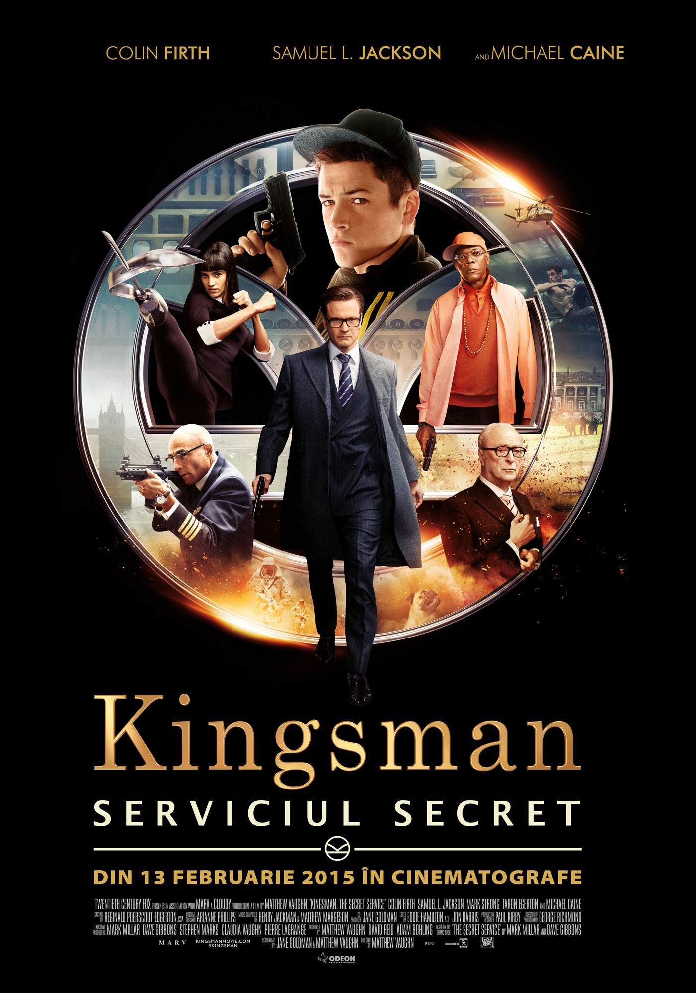 Kingsman: Serviciul Secret / Kingsman: The Secret Service (Premiera)