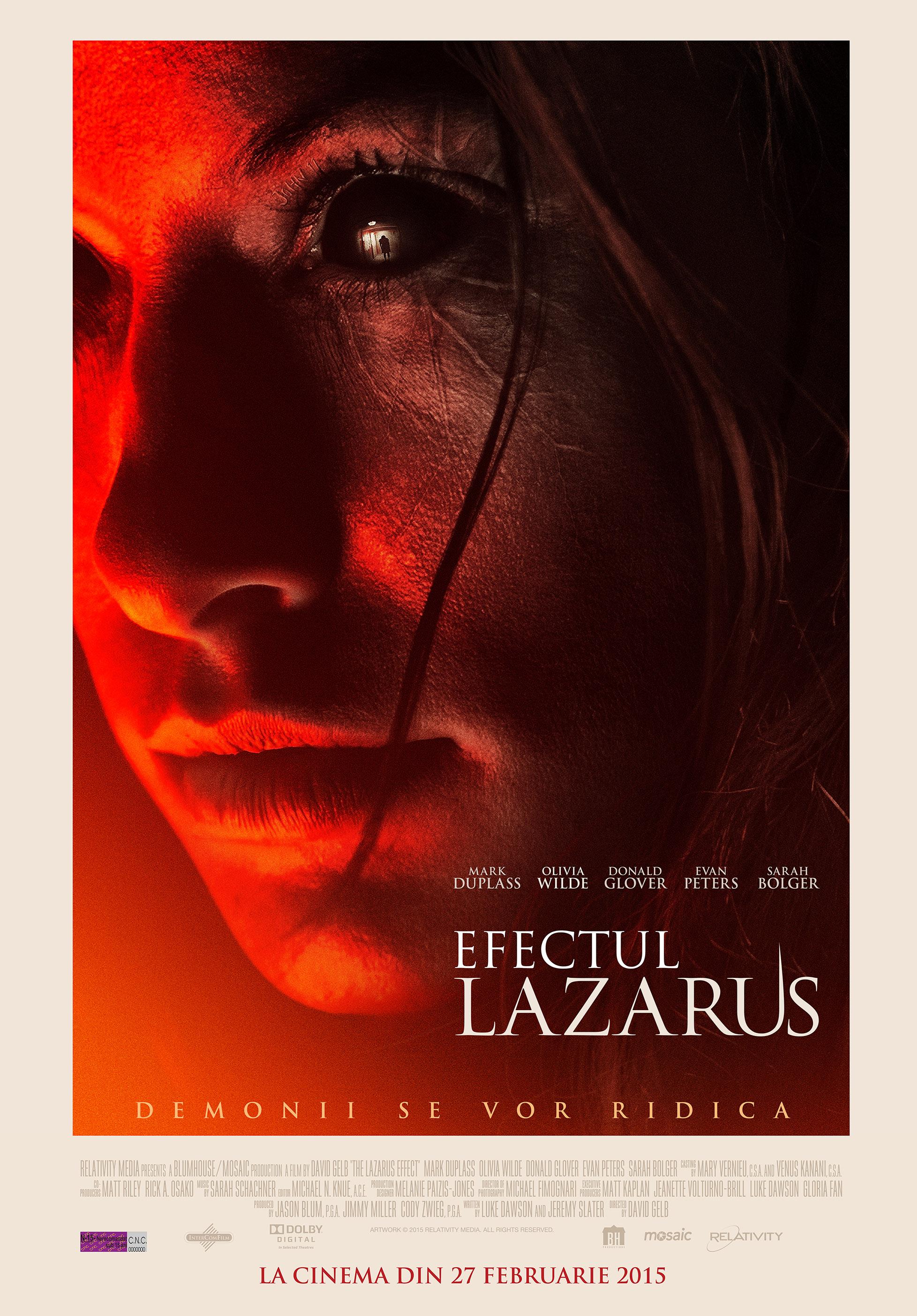 Efectul Lazarus / The Lazarus Effect (Premiera)