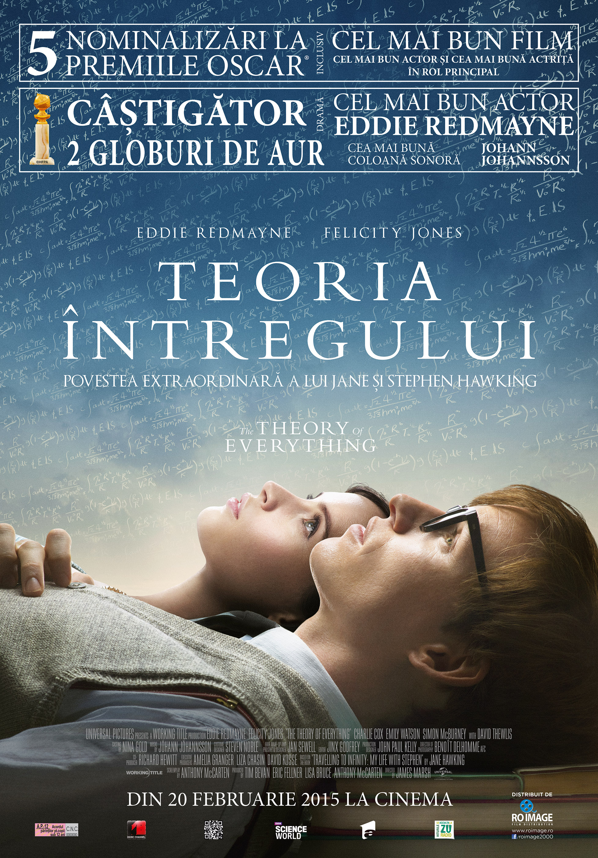 Teoria Intregului / The Theory of Everything (Premiera)