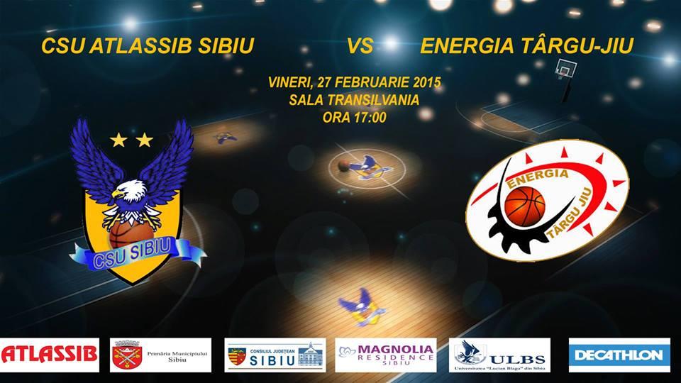CSU Atlassib Sibiu- CS Energia Tg. Jiu