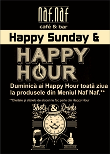 Happy Sunday & Happy Hour