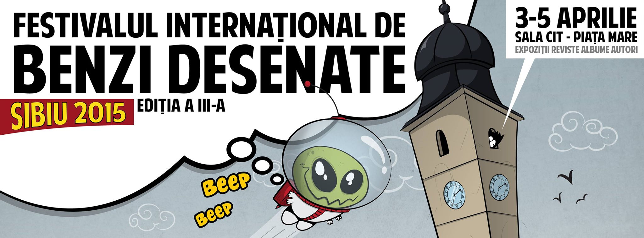 Festival International de Benzi Desenate din Sibiu, editia a III-a