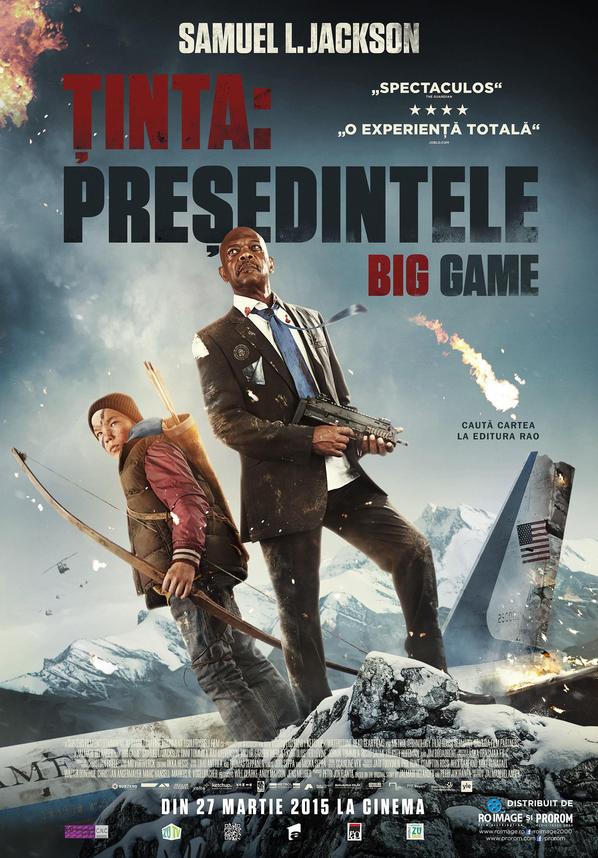 Tinta: Presedintele / Big Game (Premiera)