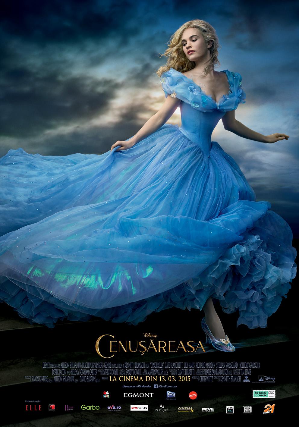 Cenusareasa – 2D Dublat / Cinderella – 2D Dubbed (Premiera)