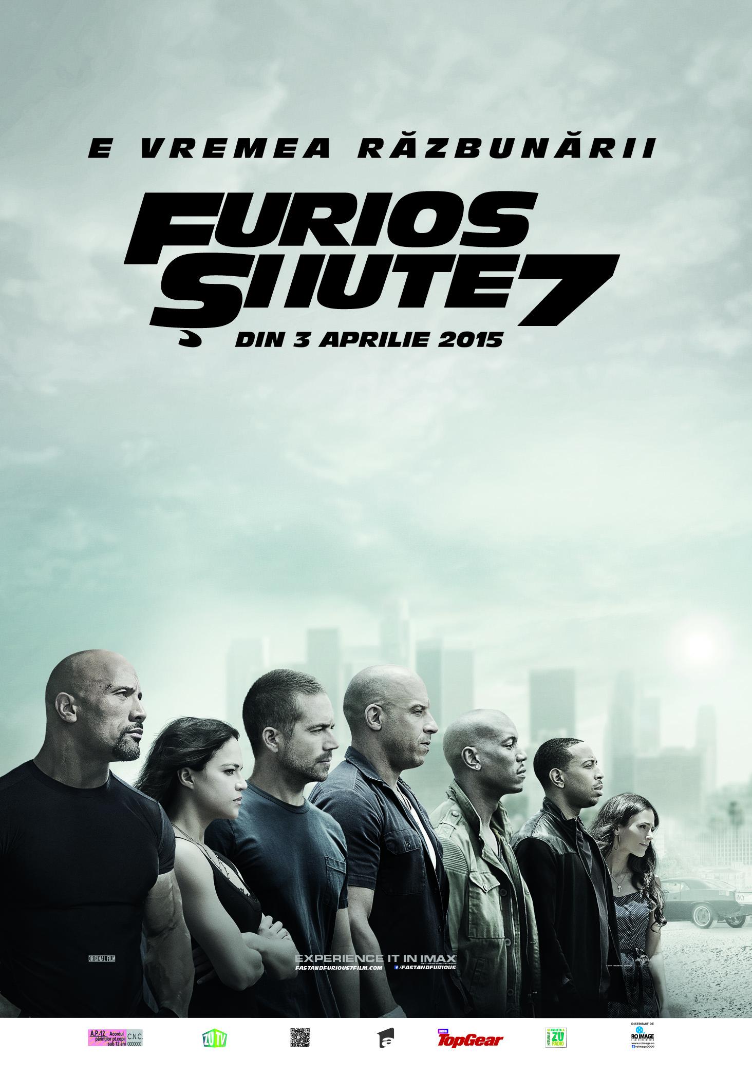Furios si iute 7 / Fast and Furious 7 (Avanpremiera)