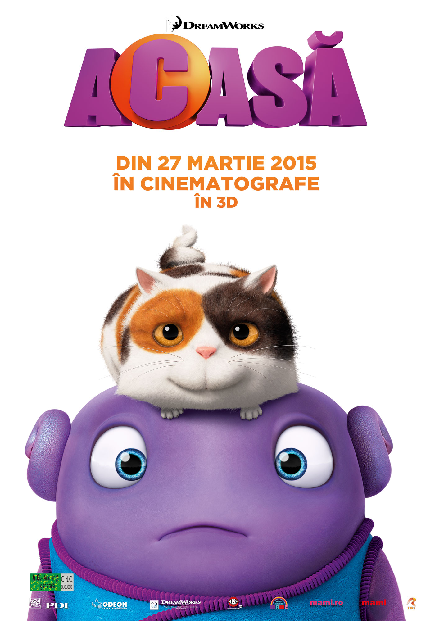 Acasa – 3D Dublat / Home – 3D Dubbed (Premiera)