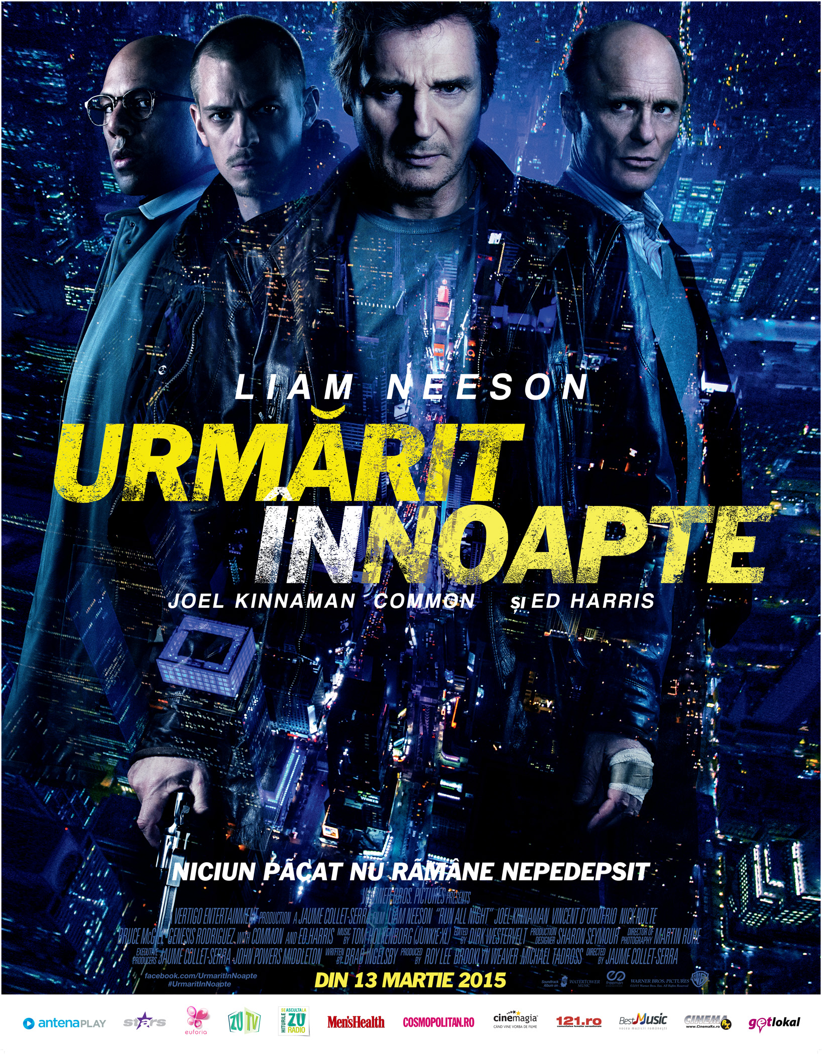 Urmarit in noapte / Run All Night (Premiera)