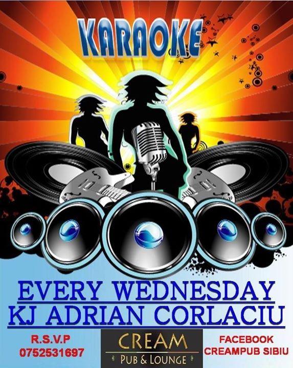 Karaoke in Cream Pub cu Adi Corlaciu