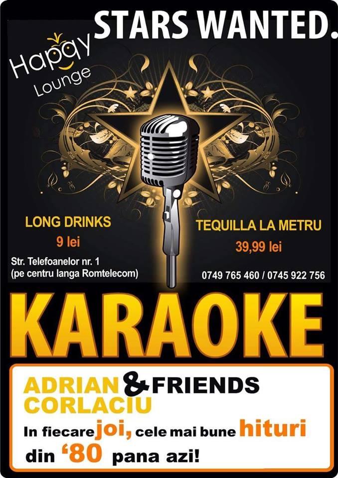 KARAOKE PARTY la Happy Lounge