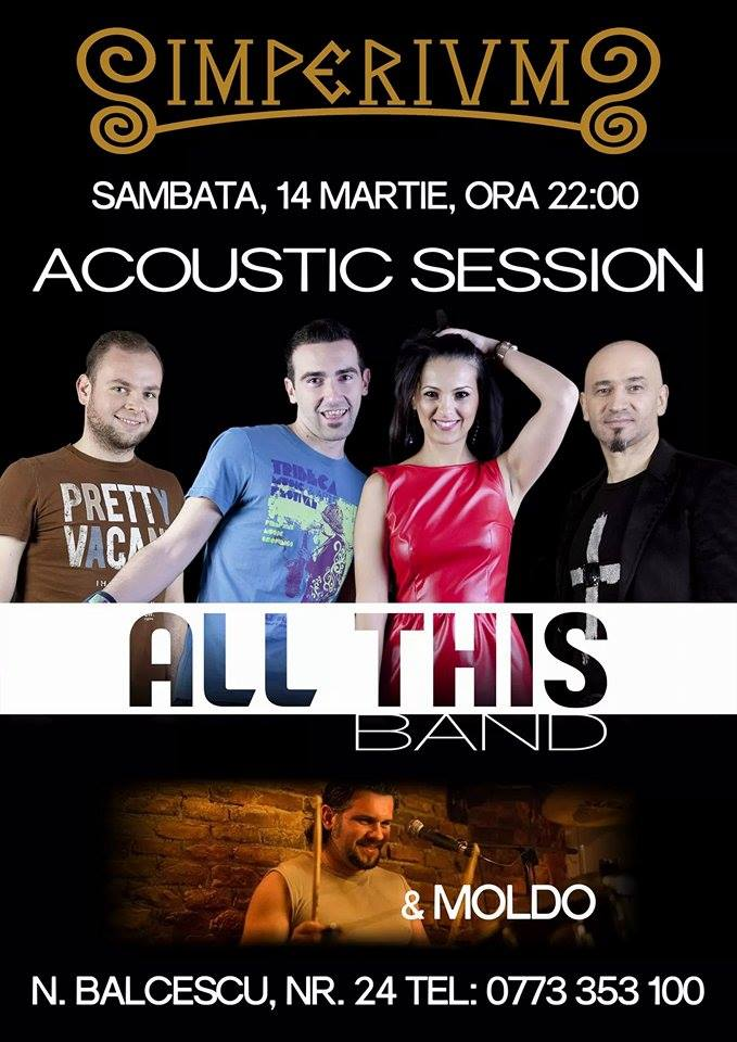 ALL THIS BAND & MOLDO ACOUSTIC SESSION