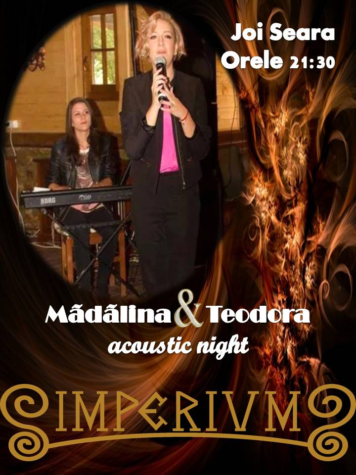 MADALINA & TEODORA ACOUSTIC NIGHT