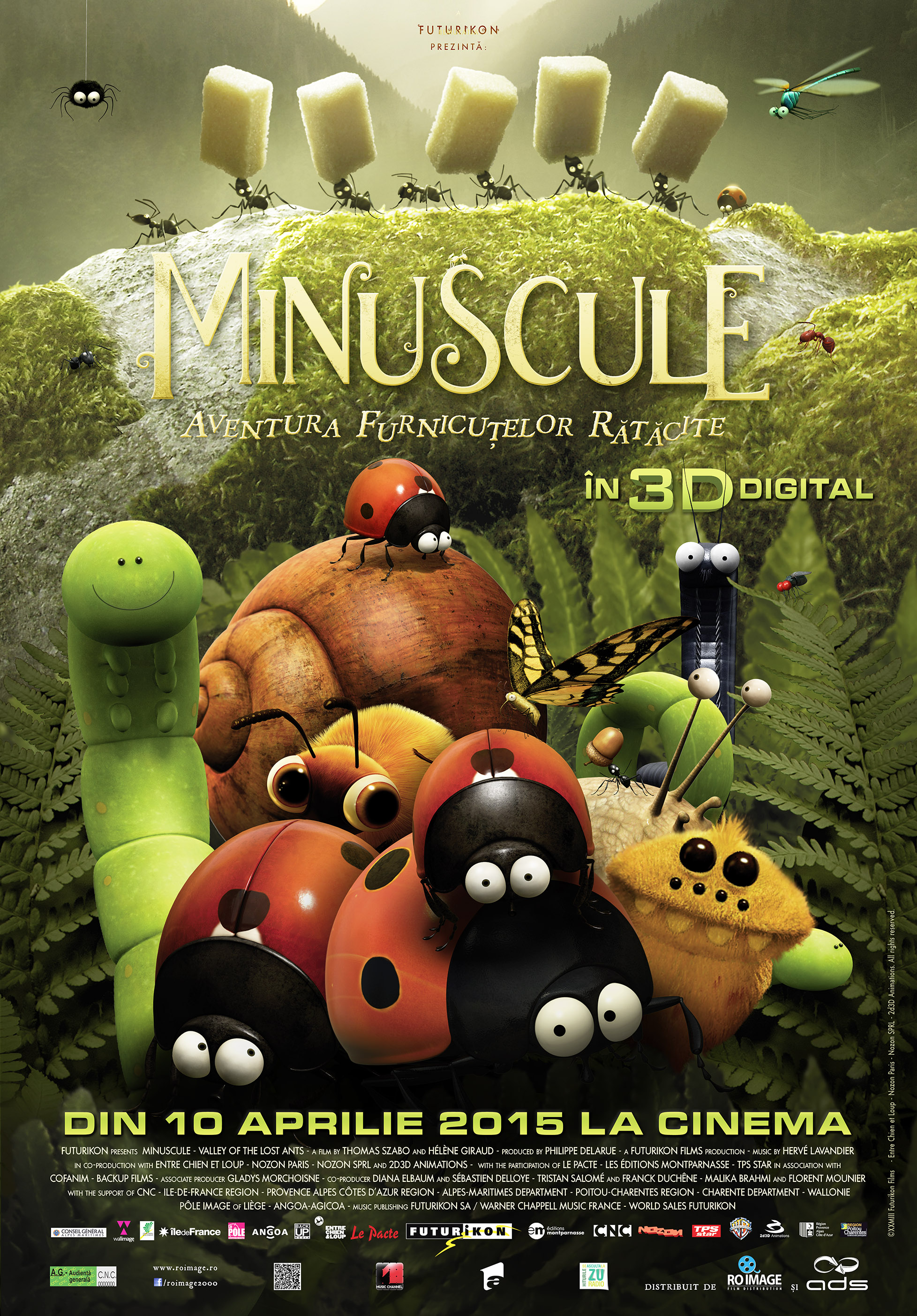 Minuscule: Aventura furnicutelor ratacite – 3D Dublat / Minuscule: Valley of the Lost Ants - 3D
