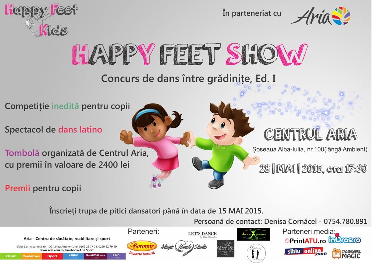 Happy Feet Show, concurs de dans între grădinițe